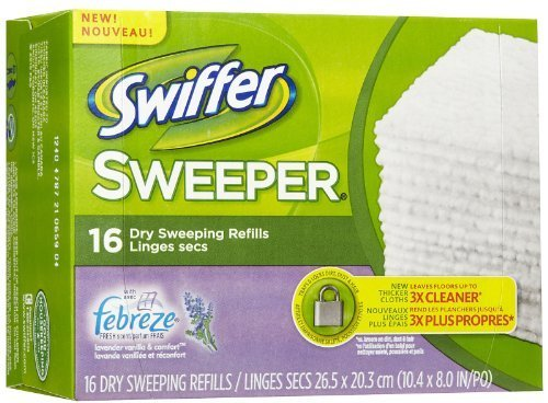 Swiffer Sweeper Dry Disposable Sweeping Cloths, Lavender and Vanilla Scent: Amazon.es: Electrónica