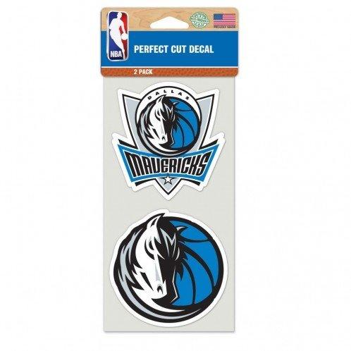 - WinCraft NBA Dallas Mavericks Perfect Cut Decal (Set of 2), 4