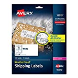 Avery WeatherProof Mailing Labels with TrueBlock Technology for Laser Printers 2