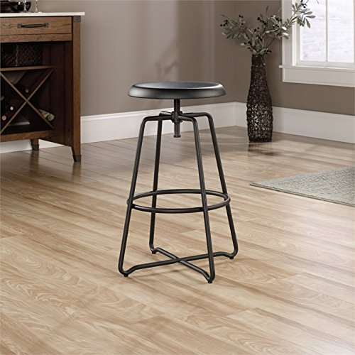 sauder-415831-black-metal-finish-carson-forge-stool