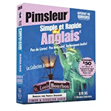 Pimsleur English for French Speakers Quick & Simple Course - Level 1 Lessons 1-8 CD: Learn to Speak and Understand English for French with Pimsleur Language Programs