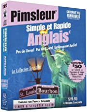 Pimsleur English for French Speakers Quick & Simple Course - Level 1 Lessons 1-8 CD: Learn to Speak and Understand English for French with Pimsleur Language Programs (Volume 1)