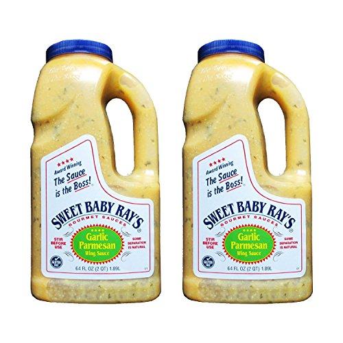 (Sweet Baby Rays Garlic Parmesan Wing Sauce - 64 Oz. Jug (2))