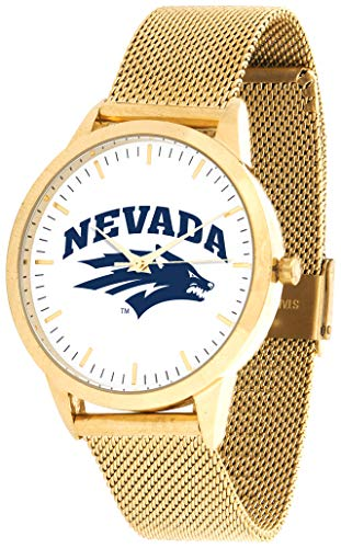Nevada Wolfpack - Mesh Statement Watch - Gold Band