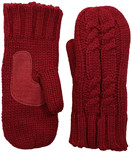 Cable Mitten - isotoner Women's Chunky Cable Knit Cold Weather Mittens with Warm, Soft Lining