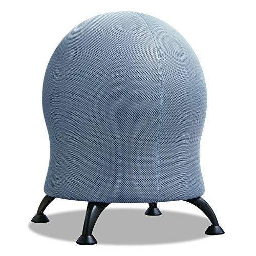 Safco Products Zenergy Ball Chair , Gray, Low Profile, Active...