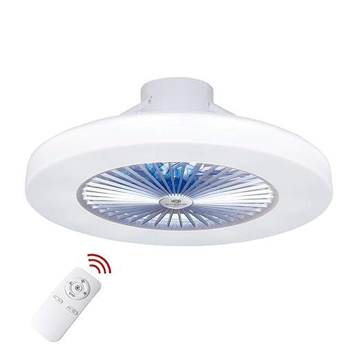 con Techo Lámpara Techo del ventilador luz Ventilador mando Luz distancia Luz Y ventilador techomoderna LED techoLED de a ventilador de de de 8wPkXO0n