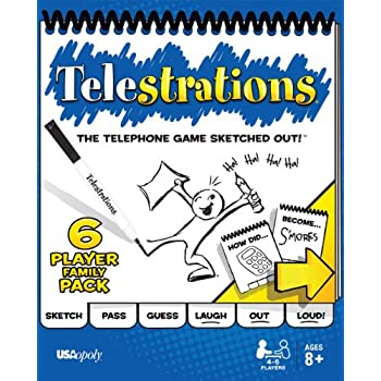 Telestrations 6 Player - Family Pack