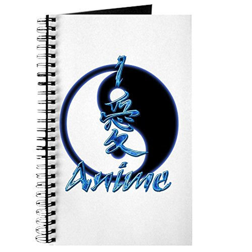 CafePress I Love Anime Spiral Bound Journal Notebook, Personal Diary, Lined