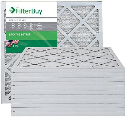 FilterBuy 20x20x1 Pleated Furnace Filters