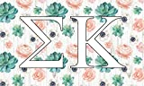 Sigma Kappa – Sorority Letter Flag (Succulent Design) Review