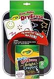 Crayola - Dry Erase, set de ceras con pizarra doble cara (98-8638)