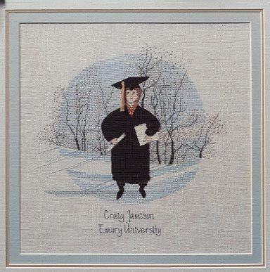 Used, P. Buckley Moss - Graduation Boy - Cross Stitch Chart for sale  Delivered anywhere in USA