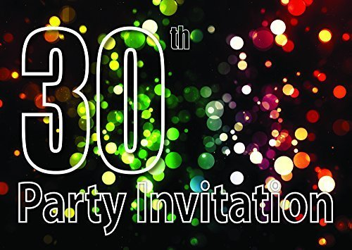 10 30th Temática Invitaciones Fiesta Cumpleaños Invitaciones ...
