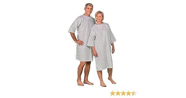 Camisa de Hospital Promo – Talla única – se vende de la unidad: Amazon.es: Salud y cuidado personal
