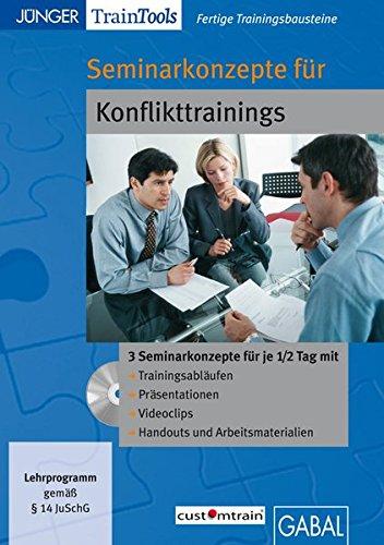 Seminarkonzepte für Konflikttrainings (CD-ROM)