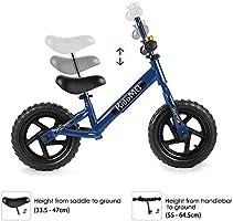Amazon.com: Bicicleta de equilibrio para niños de 12 ...