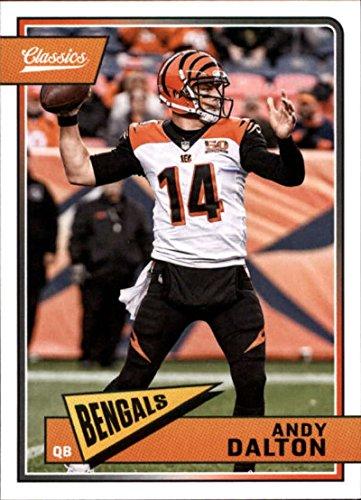 (2018 Classics Football #20 Andy Dalton Cincinnati Bengals Panini NFL Card)