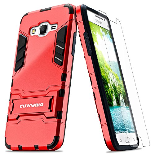Slim Fit Protective Case for Samsung Galaxy Grand Prime G530 (Red) - 1