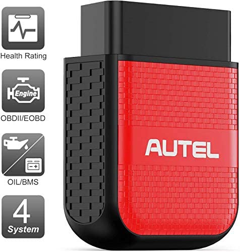 Autel OBD2 Scanner Bluetooth Diagnostic Code Reader - MaxiAP AP200H Code Scanner Health CheckHealth Rating Reports OBDII ENG/Transmission/SRS/ABS Diagnosis Oil/BMS Service Resets (안드로이드/iOS)