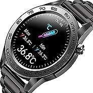 Zodvboz Relógio Inteligente Masculino,IP67 à Prova d'água, Rastreador de Atividades com Monitor de Frequên