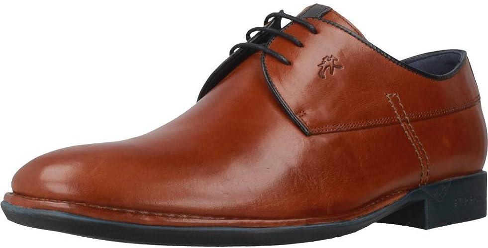 Fluchos Zapatos Cordones 8596F para Hombre Marrón 39 EU