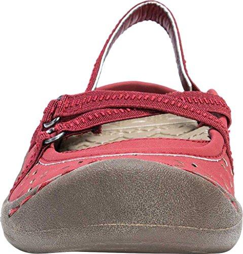 mit Shoes Ziegelrot LUKSWomen's Muk Damen Mukluks Riemen Damen Erin Strap Erin Schuh UTFnw4qR