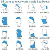 Magic Headwear Music Design Outdoor Scarf Headbands Bandana Mask Neck Gaiter Head Wrap Mask Sweatband