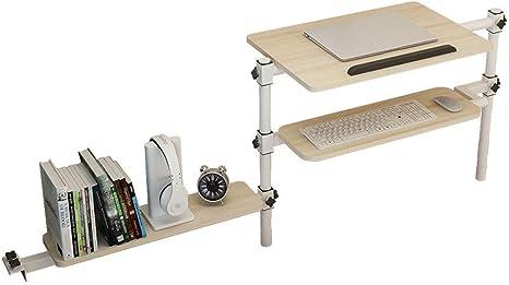 ZND Mesa Perezosa Mesa Plegable Dormitorio de Computadora ...