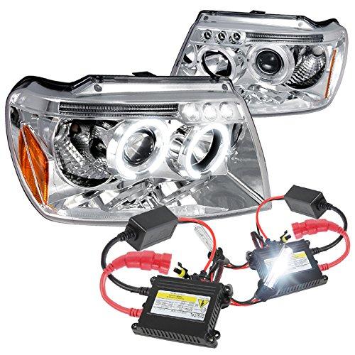 Grand Cherokee Chrome Projector Headlights