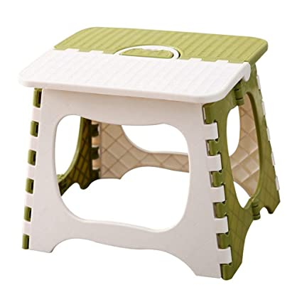 Astonishing Portable Folding Stool Plastic Footstool Kids And Adults Squirreltailoven Fun Painted Chair Ideas Images Squirreltailovenorg