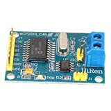 MCP2515 CAN bus Module - TOOGOO(R)MCP2515 CAN BUS TJA1050 Receiver Module SPI Protocol For Arduino SCM 51 New Blue