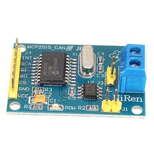 MCP2515 CAN bus Module - TOOGOO(R)MCP2515 CAN BUS TJA1050 Receiver Module SPI Protocol For Arduino SCM 51 New Blue
