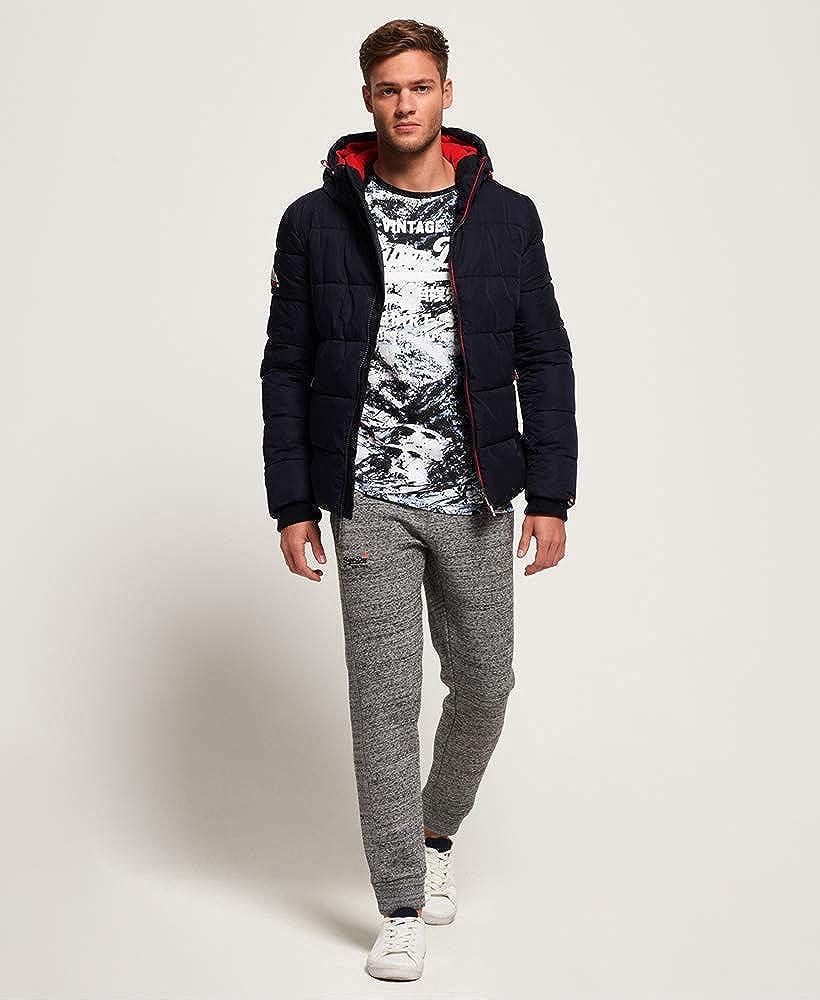 Superdry Herren Sports Puffer Quilted Jacket