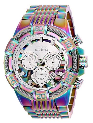 Invicta Bolt - Invicta Men's Bolt Quartz Watch with Stainless Steel Strap, Multicolor, 30 (Model: 25545)