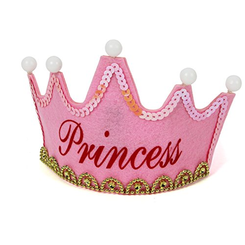 [LOVELY BITON(TM) Children's Birthday Party Crown Craft Tiaras and Crowns for Birthday Party and Festivals Printed Different Pattern of] (Toddler King Costumes)