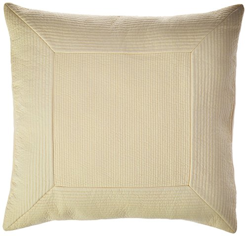 Tommy Bahama Quilted Sham, European King, Ivory