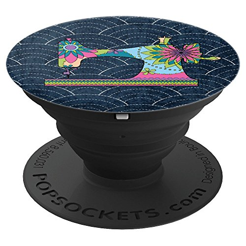 Love Sewing Quilting Craft Hobby, Fun Family Gift - PopSockets Grip and Stand for Phones and Tablets