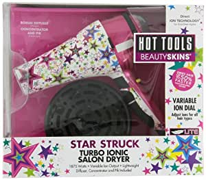 Hot Tools Turbo Ionic Dryer, Star Struck