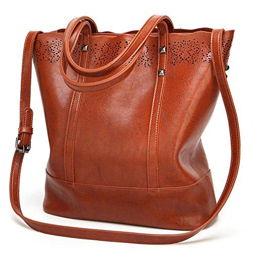 SiMYEER Women Handbags Tote Bag Purse Shoulder Message Bag for Women Top Handle Satchel Handbags