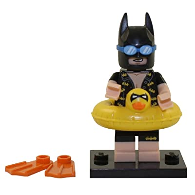 LEGO Batman Movie Series 1 Collectible Minifigure - Vacation Batman (71017): Toys & Games
