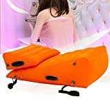 Yiwa Huge Combination 34inch/86cm Sofa Triangle Cushion Sex Furniture for Couples Position Support Pillow with BDSM Handcuffs