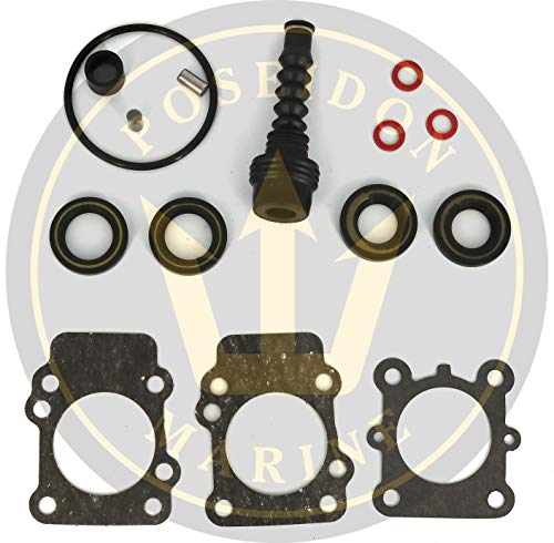 Poseidon Marine Lower Gear case housing Seal kit for Yamaha 9.9 15 Two Stroke RO: 683-W0001-21
