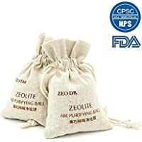 ZEO DR. Air Purifier Bag-Remove Odors,Formaldehyde,Bacteria,Excess Moisture (200g x 2)