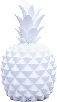 Blanc Bibelot D/écoratif pour Mariage F/ête et Festivit/és HomeDecTime Talking Tables Modern Metallics D/écoration Ananas S