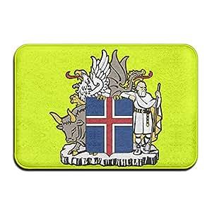 Icelandic Coat Of Arms Iceland Doormat Rug Door Mat