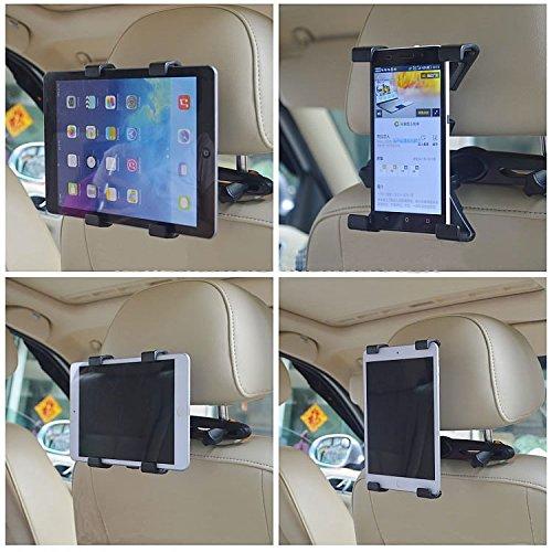 """Nexus Galaxy TAKIT Supporto Tablet Auto Poggiatesta per iPad Kindle E Tutti I Dispositivi Tablet Da 7/"""" a 11/"""" Rotazione a 360/°"""
