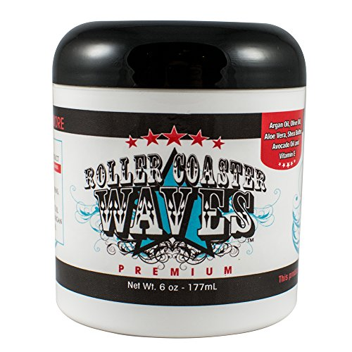 Control Roller - Roller Coaster Waves - Premium Hair Pomade For High Definition Waves + Smooth Texture, 6 Ounces