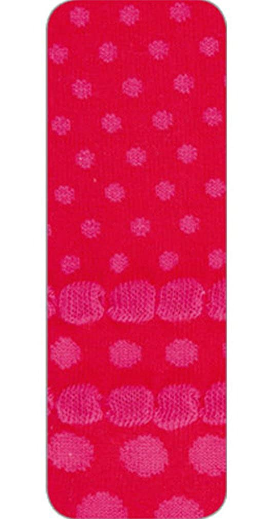 Girls Country Kids Red Bubble Dot Tights 1-3 years