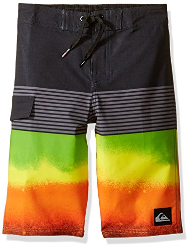 Quiksilver Toddler Boys' Division Remix 14 5 Boardshort, Shocking Orange, 2 - Quiksilver Board Shorts Infant